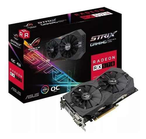 Tarjeta De Video Asus Strix Radeon Rx570 4gb Gddr5 Oc Editio