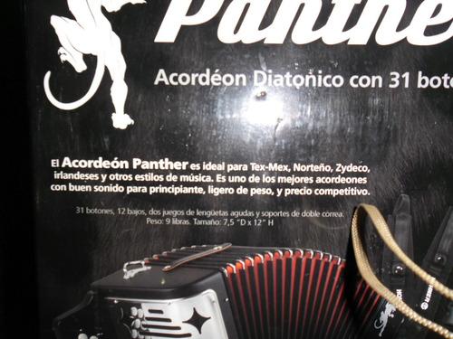 Acordeon Diatonico Hohner Panther + Regalos