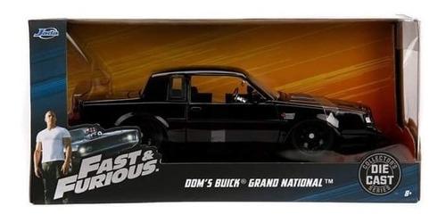 Buick Grand National Fast & Furious 20cms Largo Escala 1:24.