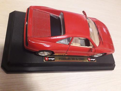 Carro De Coleccion Burago Ferrari 348 Tb  Escala 1/24