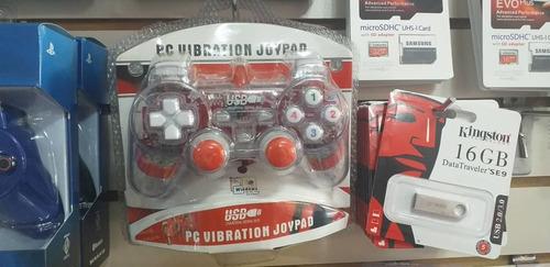 Control Joystick Usb Para Pc Luces Led 10/$\ Mcbo Zona Norte