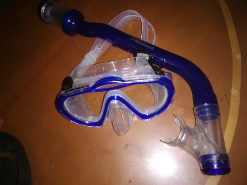 Equipo De Buceo: Snorkel, Mascara,chapaletas Promate