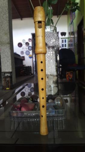Flauta Dulce Soprano Moeck  De Madera Digitacion Alemana