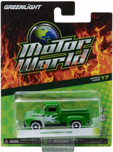 Greenlight Jeep Ford F-100 Chevy Bel Air... Escala 1:64