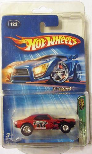 Hot Wheels , S Treasure Hunt, '67 Camaro, R/goma, E:1/64