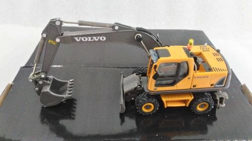 Maquinaria Amarilla, Escavadora Volvo, Escala 1:87.