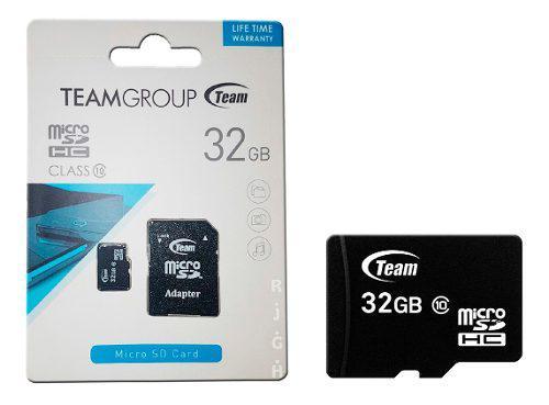 Memoria Micro Sd 32gb Team Group Clase 10 Bagc
