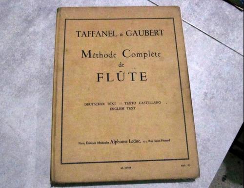 Metodo Completo De Flauta Taffanel & Gaubert (leer)