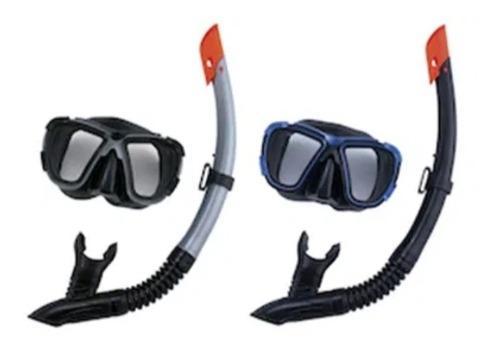Máscara Y Snorkel Hydro Pro Buceo Set De Buceo