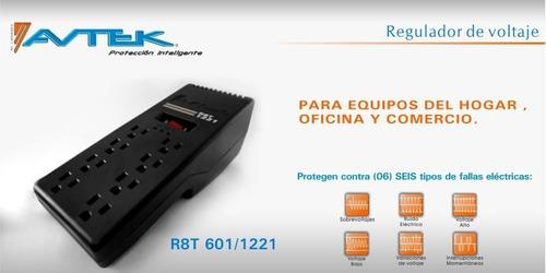 Regulador De Voltaje Avtek R8t- Tomas