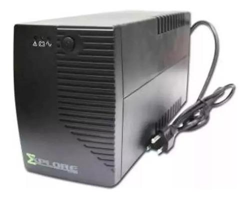 Ups Regulador De Voltaje Explore Power Backup va 4 Tomas