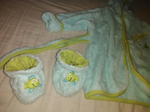 Bata De Baño Para Bebe Kobytin