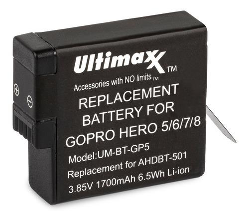 Bateria Gopro 5/6/7/8 1700mah Ultimaxx