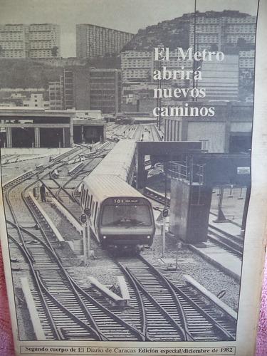 Cuando El Metro De Caracas Comenzó Operaciones En