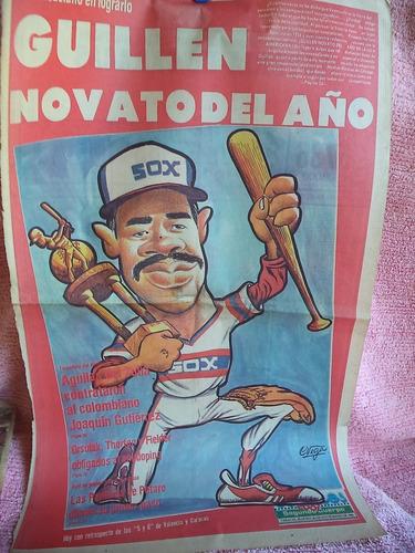 Cuando Oswaldo Guillen Fue Elegido Novato Del Año
