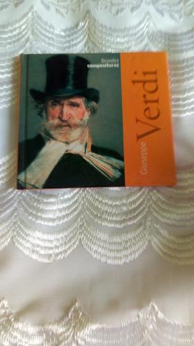 Giuseppe Verdi Libro Biografía Con Cd Musica Clasica