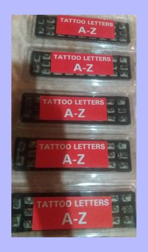 Juego De Letras Para Tatuadora