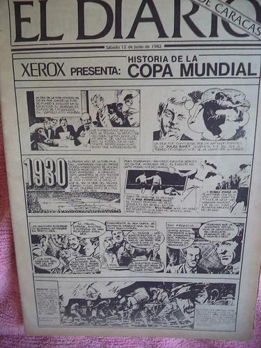 La Historia De Los Mundiales De Fútbol  Comics