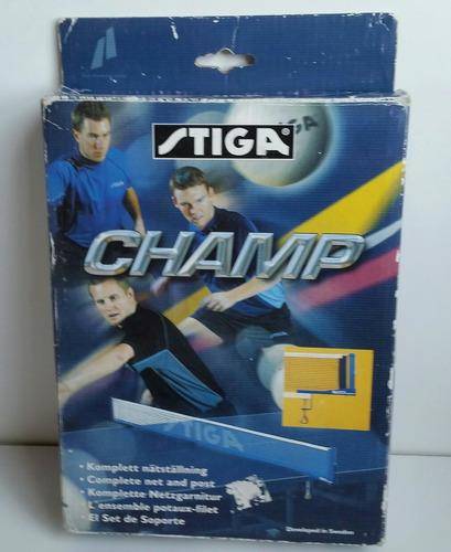 Malla Para Mesa De Ping Pong. Marca Champ Stiga - 25 Usa.