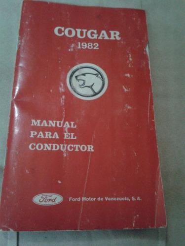 Manual Del Coductor Cougar