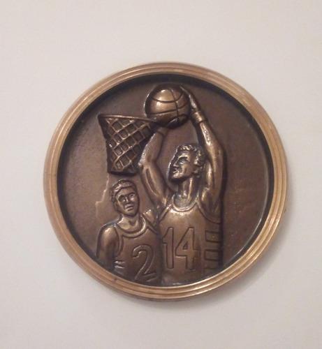 Medalla Condecoración Premiacion Deportiva De Basquet
