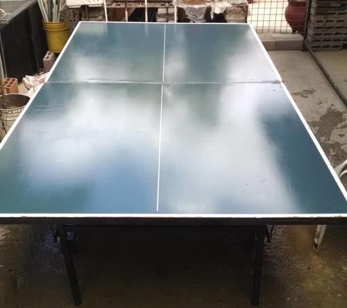 Mesa De Juego Ping Pong Azul