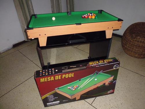 Mesa De Pool Profesional Jeidy Toys Mundial Niños Navidad