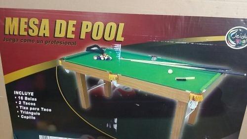 Mesa De Pool Profesional Jeidy Toys Tamanaco Grande
