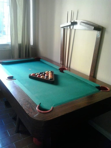 Mesa De Pool Y Billar Semi Profesional, Usada Mod-450