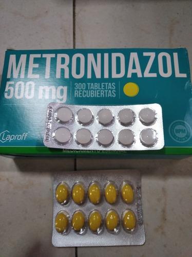 Revista De Metronidazol 500mg Óvulos Y Pastillas