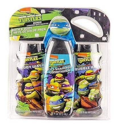 Set De Baño Para Niños De Las Tortugas Ninjas