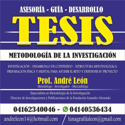 Tesis De Grado, Asesoría, Desarrollo. Metodología