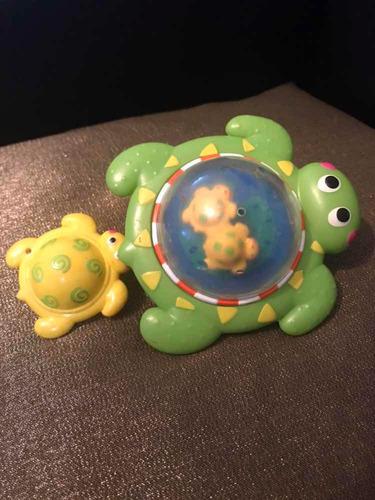 Tortuga Nadadora Ideal Para El Baño Del Bebe ($1)