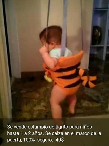 Columpio De Tigrito Para Niños De 1 A 2 Años