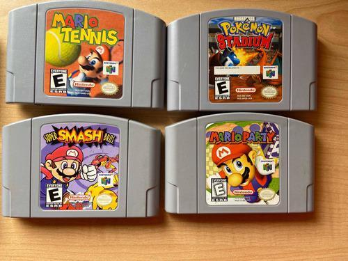 Combo Juegos Nintendo 64+juegos Game Boy + Nintendo Ds