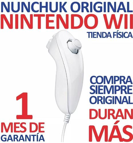 Control Nunchuk Original Color Blanco Nintendo Wii (12v)