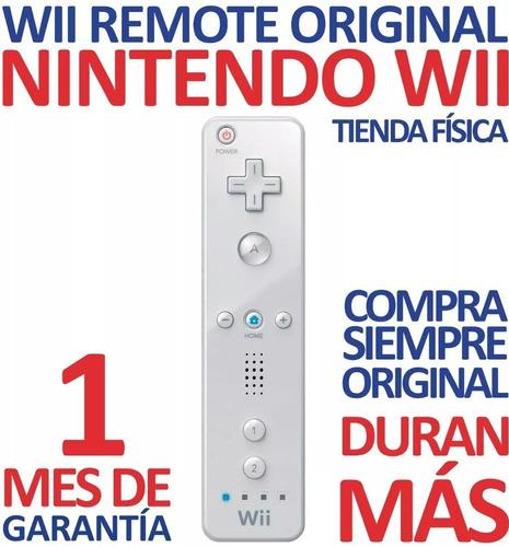 Control Wii Remote Original Color Blanco Nintendo Wii (18v)