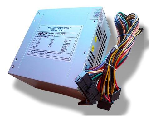 Fuente De Poder Pc Atx 500w  Pines Con Conector Sata