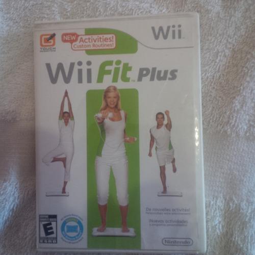 Juego Original Wii Fit Plus Para Consolas Nintendo Wii.