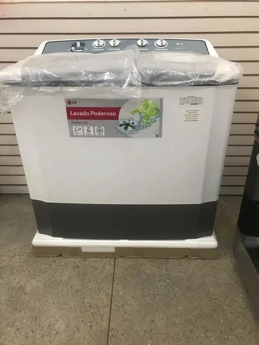 Lavadora Semi Automatica Doble Tina Lg Wp-r 8 Kg