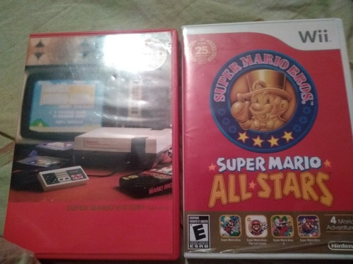 Super Mario All Stars 25 Aniversario Nintendo Wii