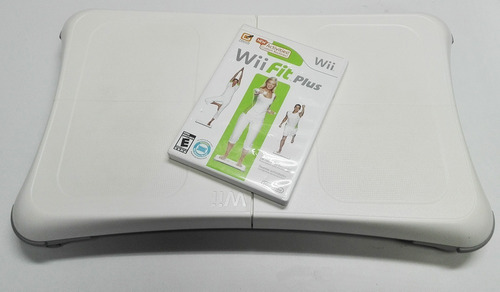 Tabla Wii Fit Nintendo Wii + Alfombra + Juego Ofertazo!