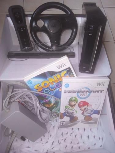 Wii Con 2 Juegos Totalmente Operativo Y Original