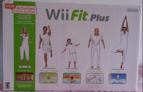 Wii Fit Plus Tabla Mas Juego Original