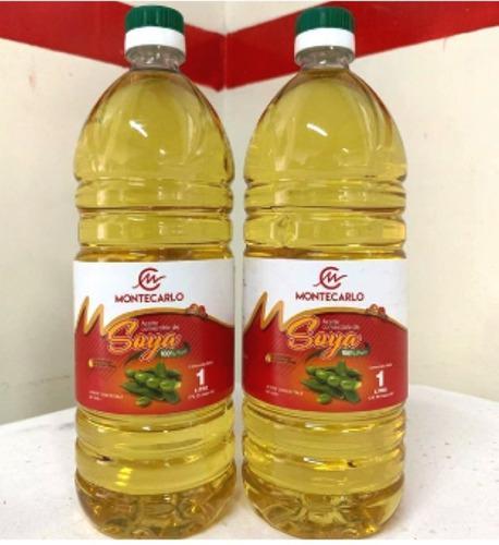 Aceite Comestible Soya Montecarlo 1l (bulto X 12 Unid) $21$