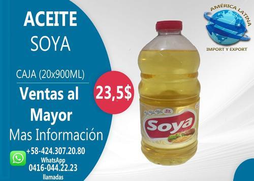 Aceite De Soya Comestible