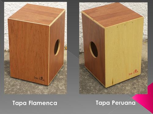 Cajon Peruano - Flamenco Doble Tapa Caja Mixta