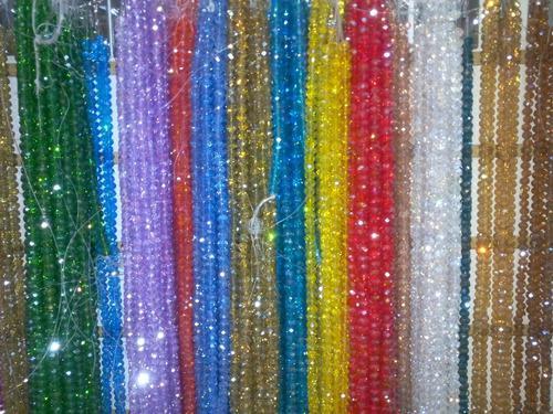 Cristal Checo Translucido 6 Y 8 Mm