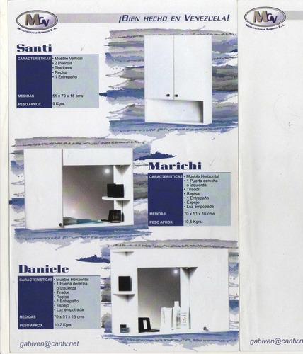 G P/baño Color Blanco Mueble Blanco Y R/moro Varios Precio