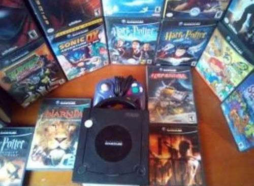 Game Cube Con Todos Sus Juegos Originales Y 1 Control